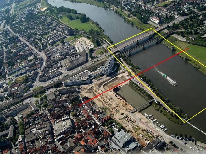 2010 Venlo, peilwerkzaamheden tbv Archeologisch onderzoek