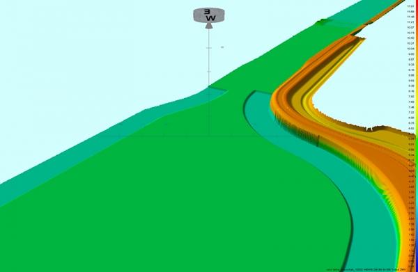 2012 Veghel-Den Dungen, modelleren Zuidwillemsvaart