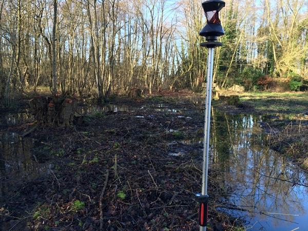 2011 Tegelen, dtm metingen natuurbouw Grashut